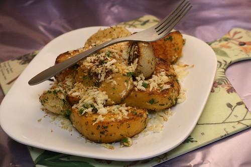 Herb-Tossed Turnips and Rutabaga