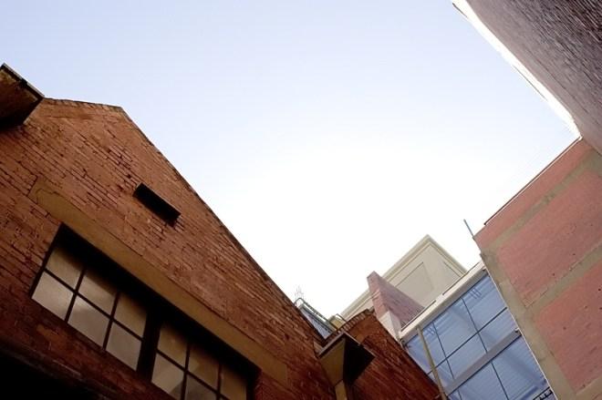 inside Zekka looking up
