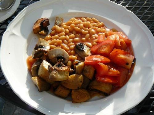 Cooked Breakfast at the Green Terrace, Vegetarian/Vegan Bed&Breakfast in Crete