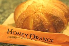 EBC's honey orange rosette