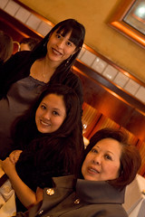me, my mom, and my cousin mao