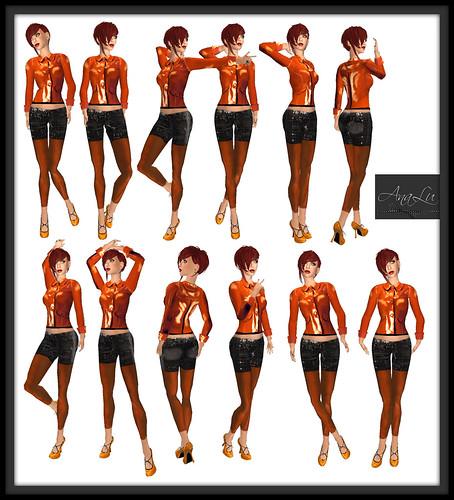 -AnaLu- *fresh poses* (205-216)