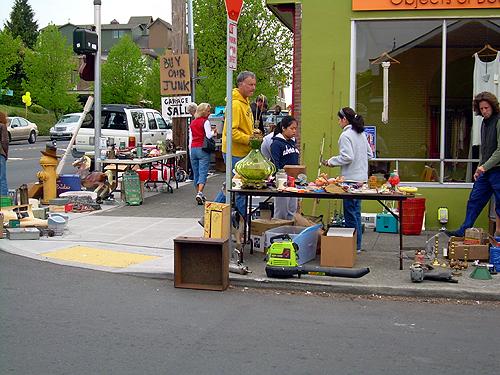 Corner sale