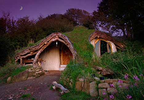 Green Roofed Hobbit Hole