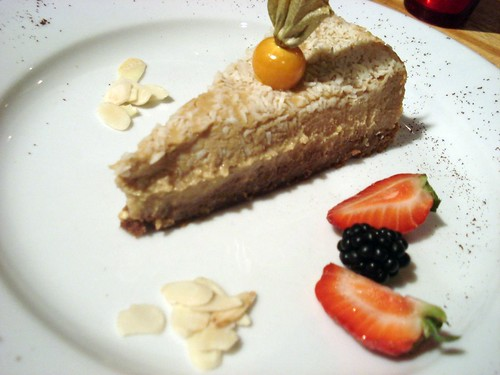 222 - Homemade Tofu Cheesecake by you.