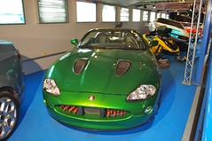Jaguar XKR Roadster used in the 2002 Bond Film...