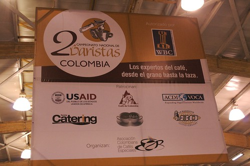 Colombian National Barista Competition