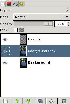 Fake Fill Flash -- Select layer