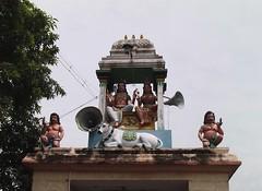 Temple Entrance Sculpture