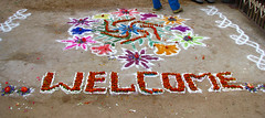 guest posts - India - Sights & Culture - 027 - Chalk & flowe...