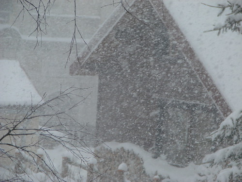 Pâques sous la neige