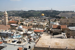 The Old City of Jerusalem as seen from David's Tower