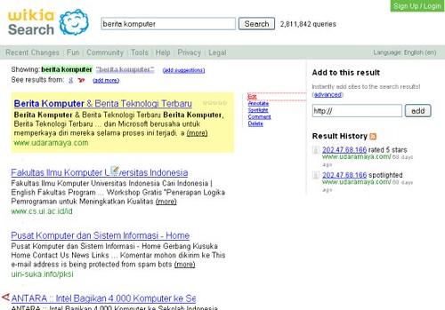Hasil pencarian Wikia search