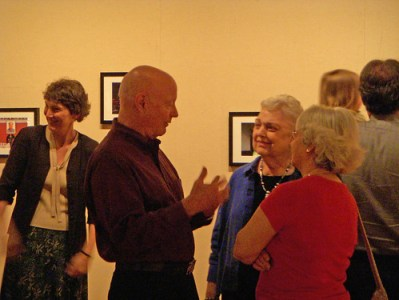 Jim Leavell at Art Opening
