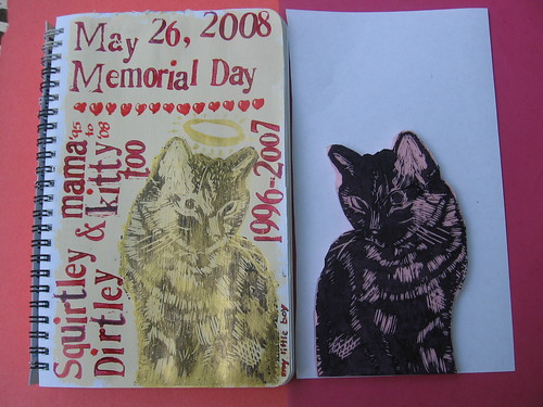 Memorial Day journal page