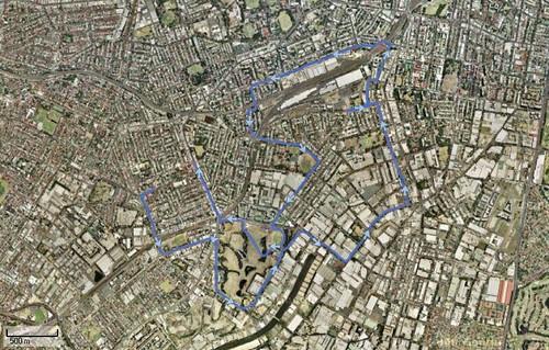 Running Home 19-04-2008