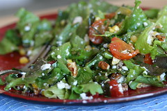 Corn salad in salad