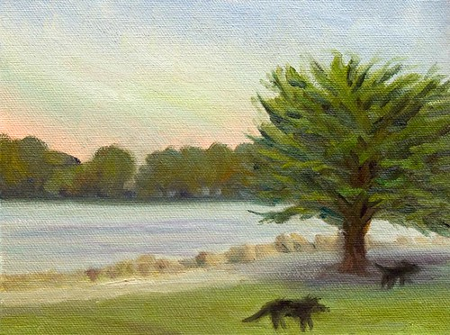Point Isabel Dog Park Plein Air
