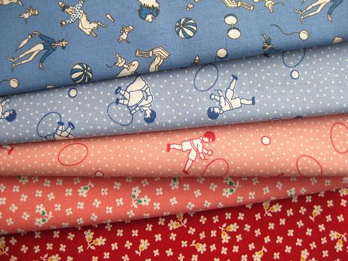Neue Stoffe! New fabrics!