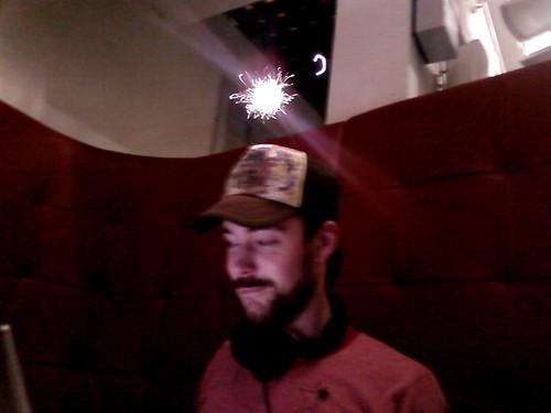 Sparkling cap.