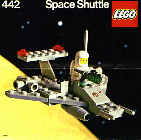 LEGO SPACE Model 442 (1978)