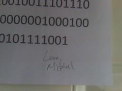 Valentine's Note