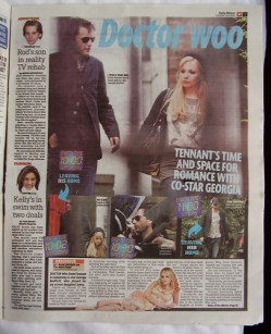 DAILY MIRROR - David Tennant & Georgia Moffett