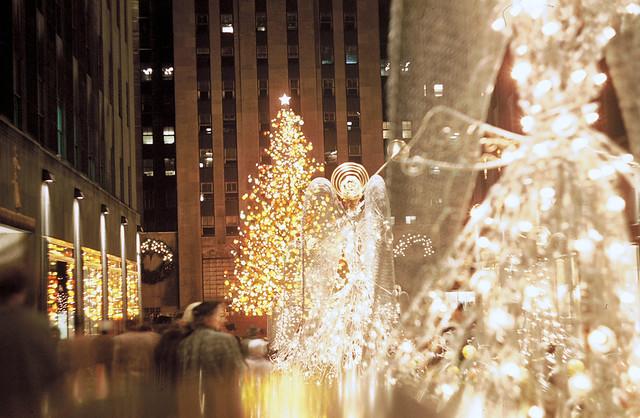 The Christmas Tree,Rockefeller Center Christmas Tree 1954
