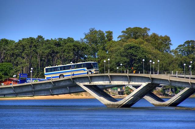 Maldonado Bridge, Punta del Este, Uruguay