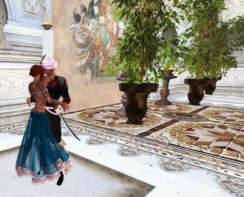 Dancing with the King of Samarkand!