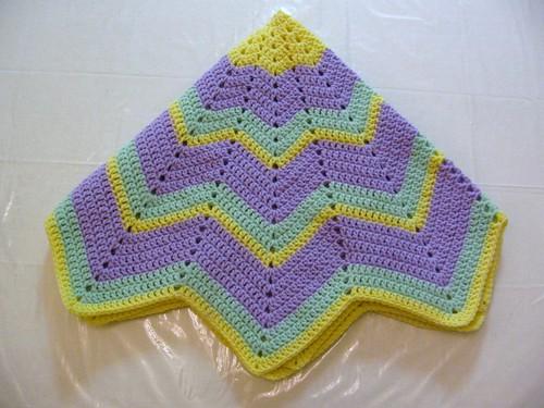 Beth's Blanket folded