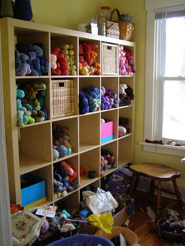 new yarn storage
