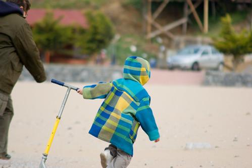 boys on Riva beach near blacksea, Pentax K10D
