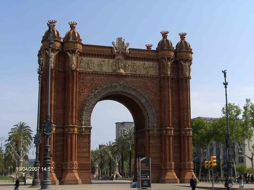 Barcelona Triomfboog