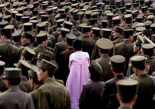 North korean army Pyongyang North Korea? 북한