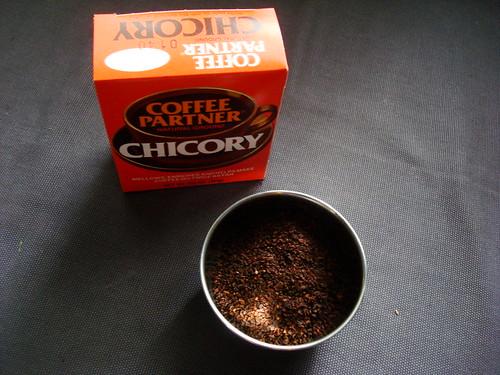 ground chicory!