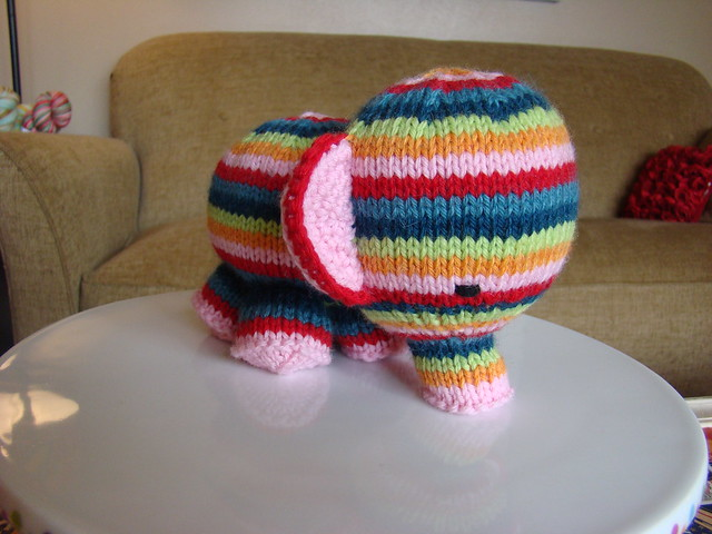 Elephante, by Susan B. Anderson from Ravelry.com