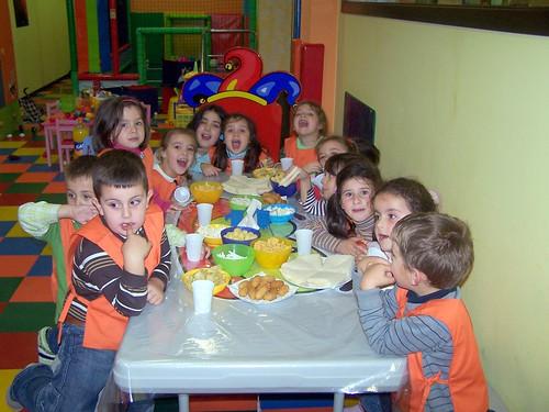 Nerea celebrando o cumpre en Xoanes