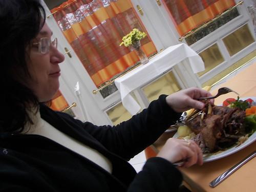 Móni nekilát a sült kacsának