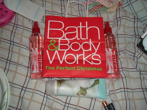 Bath & Body Works Christmas Bag