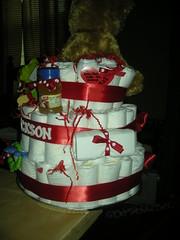 JH Diaper Cake