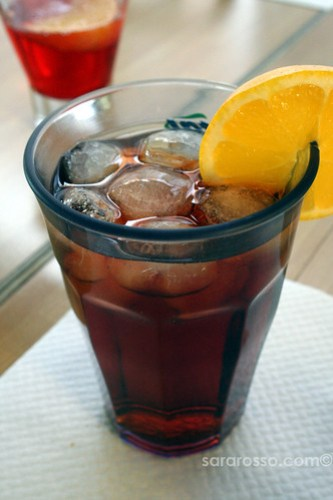 Americano for Aperitivo Italiano in Italy