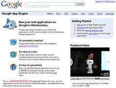 GoogleApps / Google App Engine