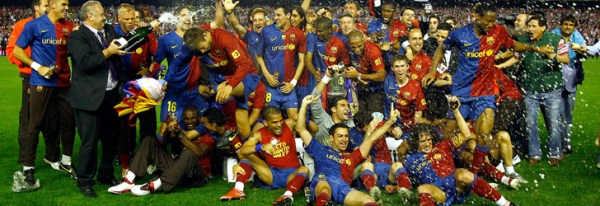 Barça Campeón de la Copa del Rey