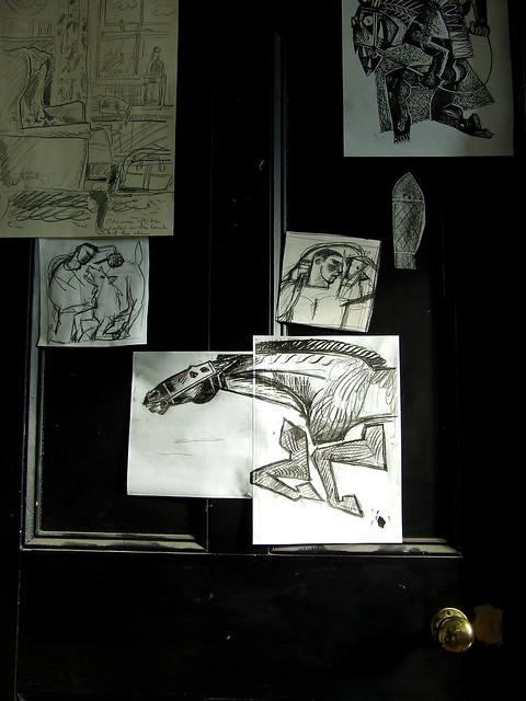 Ty Isaf studio door