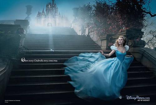 Annie Leibovitz's Disney Dream Portrait Series - Cinderella