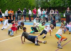 A abertura da Interação foi com Street Dance - Clique para ampliar esta foto