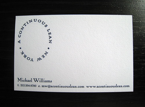 New cards a continuous lean american psycho business card scene colourmoves