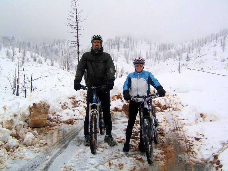 Top of Timberline Road