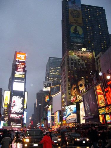 Picture I took of Times Square during my March 2008 visit to NYC.